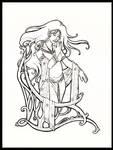 Meneliel, Stargazer Line Art