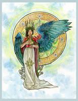 Advent Angel by AngelaSasser