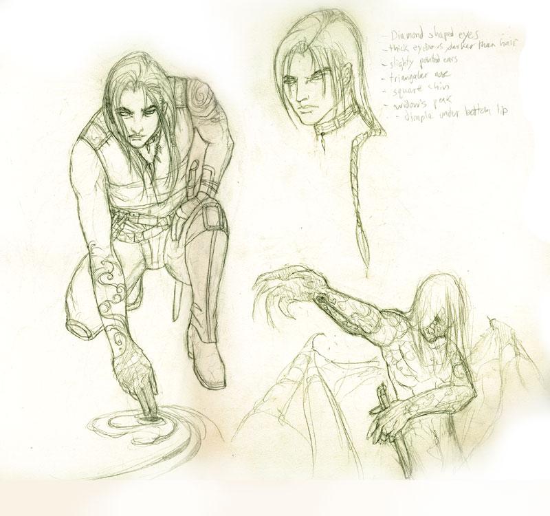 Exodus Melakim Character Sketches