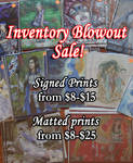Inventory Blowout Sale by AngelaSasser