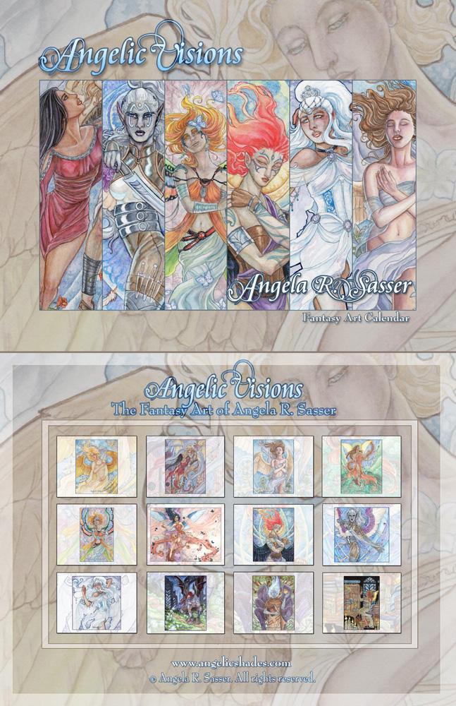 Angelic Visions Calendar