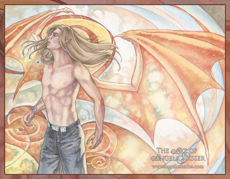 Mirin - Unwanted Wings by AngelaSasser