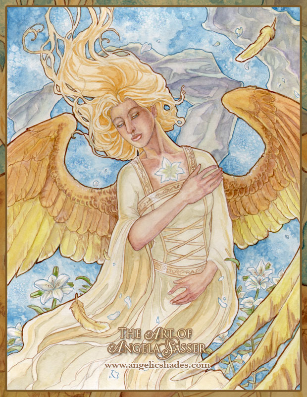 Angelic Vision by AngelaSasser