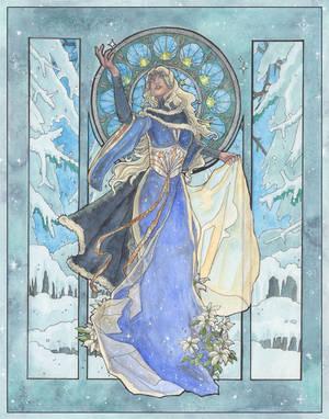 Lady Snowflake by AngelaSasser