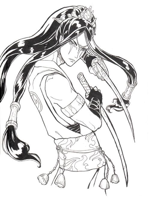 Gift Sketch - Dragon Prince