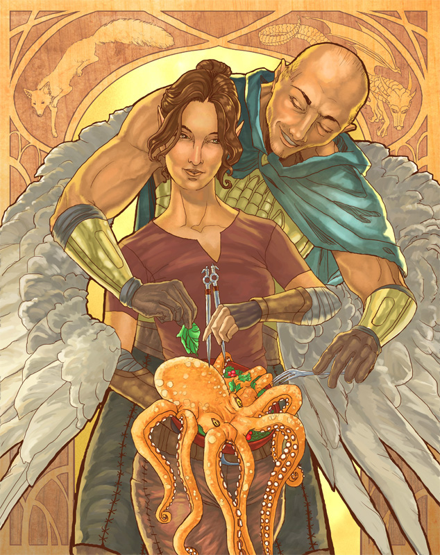 DnD Nouveau - The Cleric and the Rogue