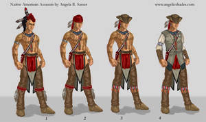 Native American Assassin for AC3