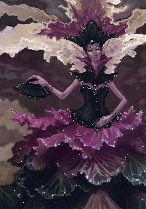 Classy Cabbage Fairy by AngelaSasser
