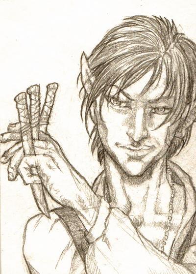 ACEO Erundyl Sketch by AngelaSasser