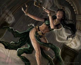 The Lotus Dancer by AngelaSasser