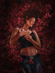 Dreaming Butterfly II by AngelaSasser