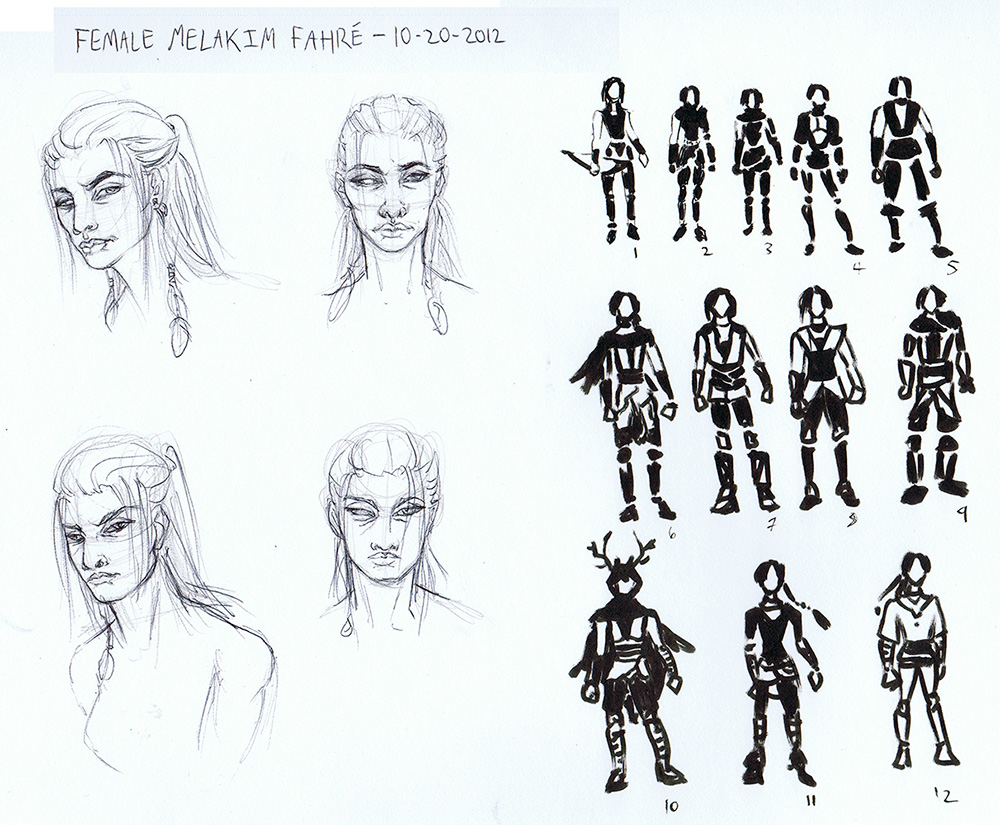Concept Warmup - Female Melakim Fahre