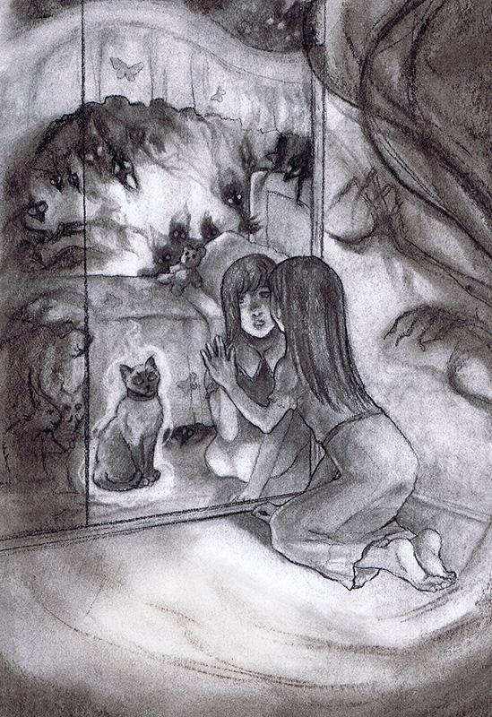The Mirror Cat by AngelaSasser