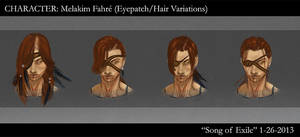 SoE Melakim Fahre - Eyepatch/Hair Variations