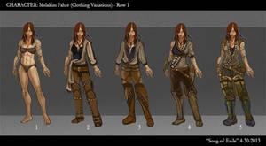 SoE Melakim Clothing Variations