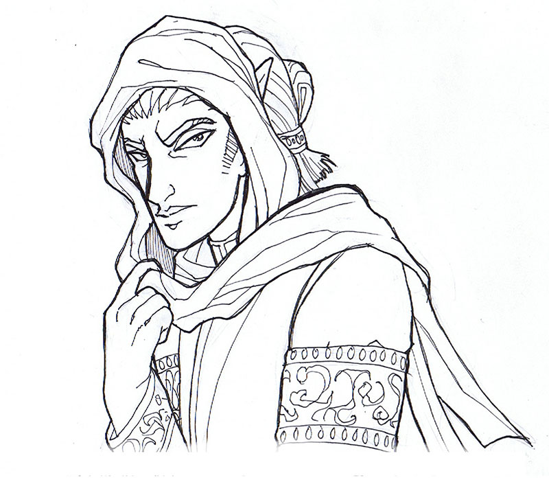 Viator Ink Sketch