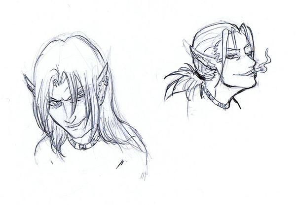 SoE Sketch - Devious Ry by AngelaSasser