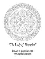 Lady of December's Window by AngelaSasser