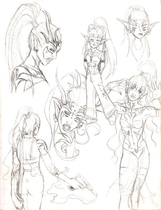 Aurora Character Study