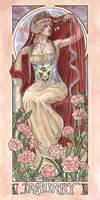 Lady of January by AngelaSasser