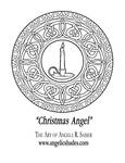 Christmas Angel's Window