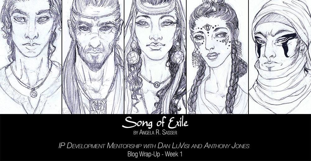 Song of Exile Character Sketches