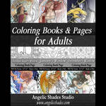 Coloring Books and Pages for Adults 7-14-2015