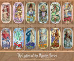 Ladies of the Months Series