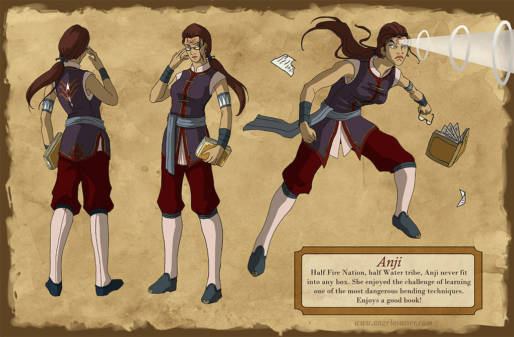 Draw Yourself As a Bender: Anji