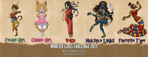 Monster Girls Challenge 2015 - Week 5