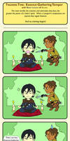 Exalted Chibi Comic: Essence Gathering Temper by AngelaSasser