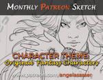 Patreon Character Jam: Original Characters