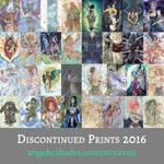 Discontinued Prints Sale!