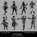 THE UNCRUCIFIED: Koh Exploratory Concepts