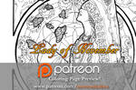 Lady of November Patreon Coloring Page