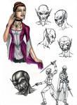 Sophia Character Study by AngelaSasser