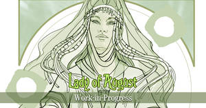 Lady of August WIP by AngelaSasser