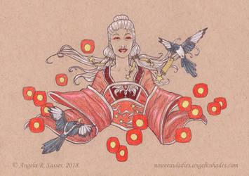 The Lady of Wishing Stars by AngelaSasser