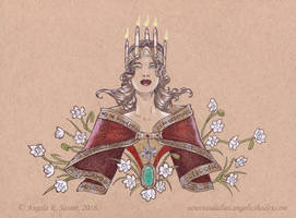 Lady of Winter Light by AngelaSasser