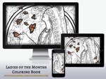 Wallpaper Pack: Lady of November Coloring Book Ed