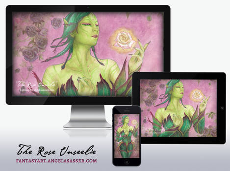 Wallpaper Pack - The Rose Unseelie