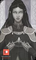 Patreon Sketch - Empress Emelia by AngelaSasser