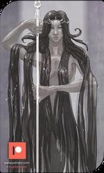 Patreon Sketch - Queen Suma by AngelaSasser
