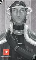 Patreon Sketch - Imperial Prince Mertean by AngelaSasser