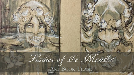 Ladies of the Months Art Book Tease