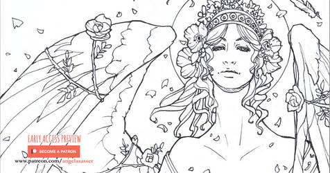 Early Access: LE Coloring Book Sketch Collection I by AngelaSasser
