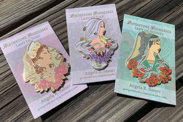 Final Reveal - Goddesses of Summer Pins