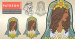 Secret Sketchbook: Designing Lady of March's Pin by AngelaSasser