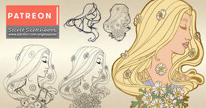 Secret Sketchbook: Designing Lady of April's Pin