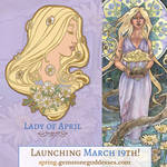 Pin Concept - Lady of April by AngelaSasser
